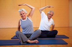 Йога для пожилых людей. Лечение йогой